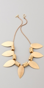 Zoe Harts gold necklace at Shopbop