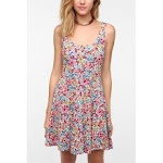 Floral dress from Urban Outfitters at Urban Outfitters