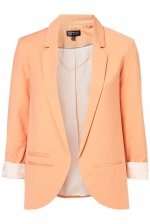 Apricot blazer like Hannas at Topshop