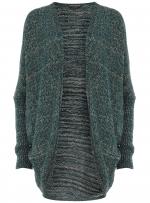 Metallic cardigan at Dorothy Perkins