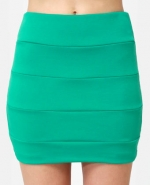 Similar green skirt at Lulus