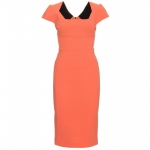 Serena's orange dress at My Theresa