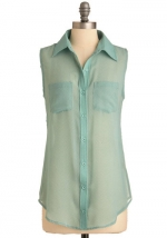 Mint shirt like Alexs at Modcloth
