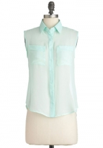 Similar mint top at Modcloth