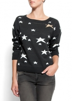 Similar star jumper at Mango