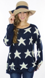 Same sweater in navy at Amazon