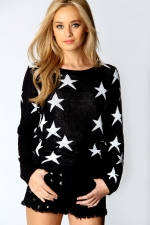 Similar star sweater at Boohoo