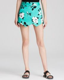 AQUA Skort - Retro Floral at Bloomingdales