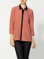 Orange shirt by Maison Scotch at Piperlime