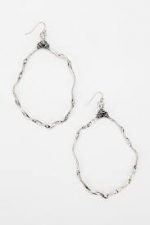 Aria's hoop earrings at Urban Outfitters