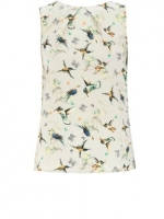 Bird print blouse at House of Fraser