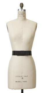 Black bow belt at Corey Lynn Calter
