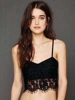 Black lace bralette like Arias at Free People