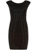 Black studded dress from Dorothy Perkins at Dorothy Perkins