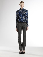 Blair's Gucci blouse at Saks Fifth Avenue