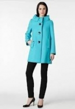Blue Suzette coat by Kate Spade at Kate Spade