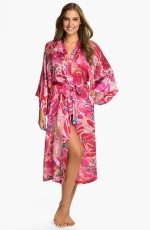Ceces pink robe by Natori at Nordstrom