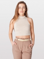 Cream crop top from American Apparel at American Apparel