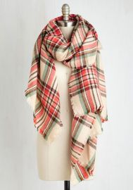 Fall Night Long Scarf in Coral at ModCloth