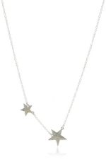 Gorjana super star necklace worn by Dorrit Bradshaw at Amazon