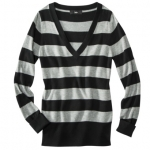 Grey striped sweater from Target at Target