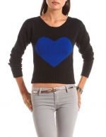 Heart sweater like Betseys at Charlotte Russe