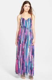 Jack and39Barbyand39 Strappy Maxi Dress at Nordstrom
