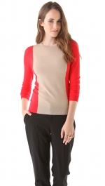 Jane's colorblock sweater at Shopbop
