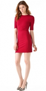 Jane's red dress at Shopbop at Shopbop