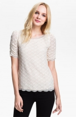 Joie Tullia top on How I Met Your Mother at Nordstrom