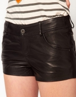 Leather shorts like Zoes at Asos