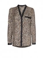 Leopard print blouse like Zoes at House of Fraser