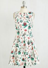Luck Be a Lady Dress in Flora at ModCloth