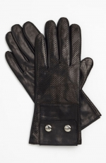 Mindys Michael Kors leather gloves at Nordstrom