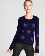Mindy's star sweater at Bloomingdales