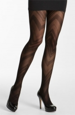 Mindy's zig zag tights at Nordstrom
