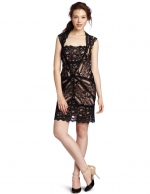 Nicole Miller lace stretch dress at Amazon at Amazon