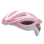 Pennys pink helmet on Happy Endings at Amazon