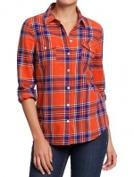 Plaid shirt like Zooeys at Oldnavy