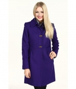 Purple DKNY Coat at Zappos