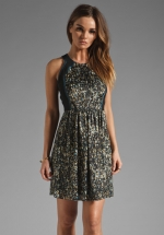 Quinn's sequin dress at Revolve