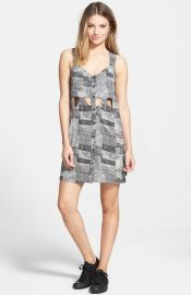 RVCA and39She Wouldand39 Cutout Tank Dress at Nordstrom