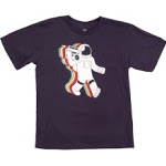 Rainbow astronaut tee from Threadless at Threadless