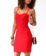 Red mini dress from Forever 21 at Forever 21