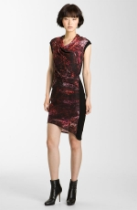 Robin's red and black dress at Nordstrom at Nordstrom