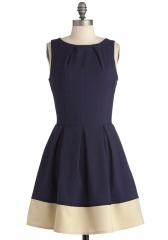 Shoreline Soiree Dress in Navy at ModCloth