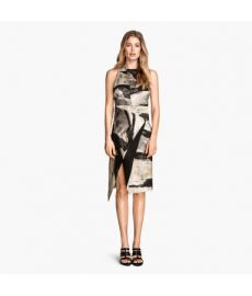 Silk-blend Dress at H&M