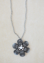 Similar flower necklace from Ruche at Ruche