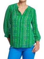 Similar green blouse from Old Navy at Oldnavy