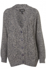Similar grey cardigan from Topshop at Topshop